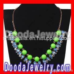 J crew Resin Crystal Bubble Necklace