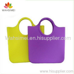 Fashion silicone lady handbag