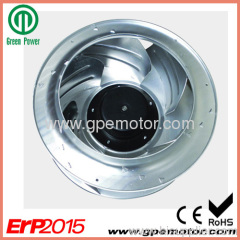 High efficiency EC Centrifugal Fan for FFU in clean room