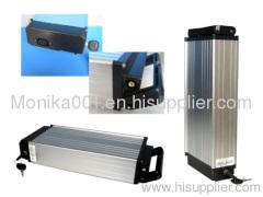 36V 10Ah Rear Rack Li ion E Bike Battery Packs