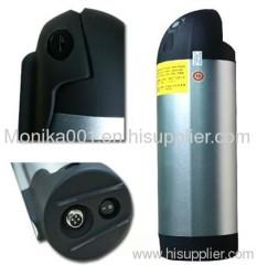 36V 10Ah LiFePo4 Tube Electric Bike Battery Packs