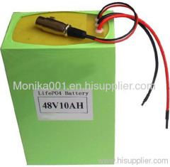 48V 10Ah LiFePo4 Battery Packs For Electric Scooters