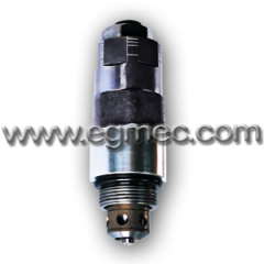 Hyundai Excavator R210 Cartridge Type Adjustable Hydraulic Pressure Relief Valve