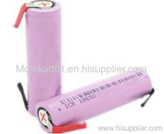 3.7V 2000mAh 18650 Li-ion Battery Cells