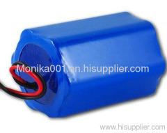 18650 Li-ion Battery Packs 11.1V 4000mAh 3S2P