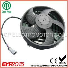 26V Vehicle Auto ventilation cooling BLDC axial fan blower