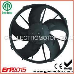 Automotive HVAC 300mm 48V PWM control Brushless DC Axial Fan