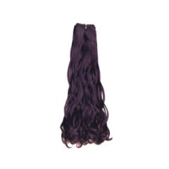 Italy curl 100%human machine made hair weft weave weaving