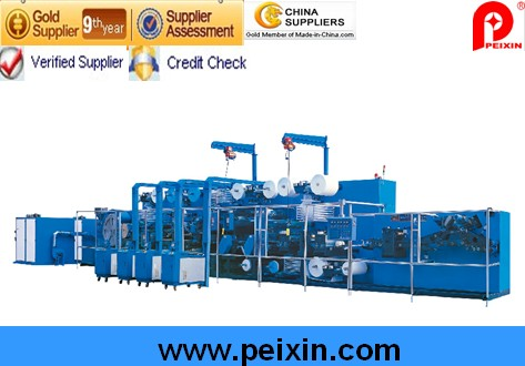 Semi-Servo Control Full-Function Adult Diaper Production Line (PX-CNK-250-BSF)