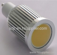8w gu10 cob led spotlight light