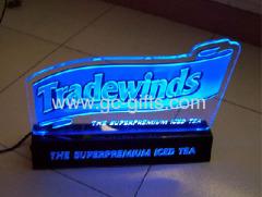 engraved illuminant acryllic signages