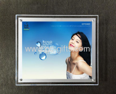 wallmounted acrylic picture frames A4 sizes