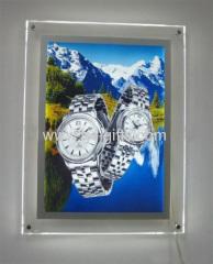 Edge-lit PMMA poster frames 50x70cm