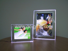 super-thin crystal light boxes for poster