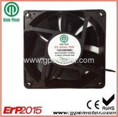 EC Cooling Fan with electronic control motor and high speed