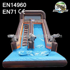 Inflatable Pirate Water Slide