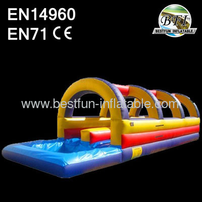Double Lane Dip Inflatable Slip