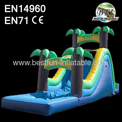 Rear Load Water Slide