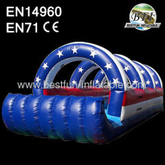 Dual Lane Inflatable Slip