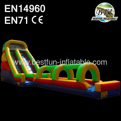 Huge inflatable water slip slide for adults
