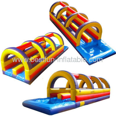 Rainbow Dip Inflatable Slip