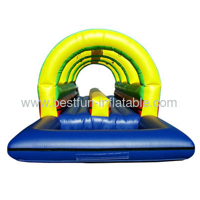 Rainbow Double Lane Inflatable Slip
