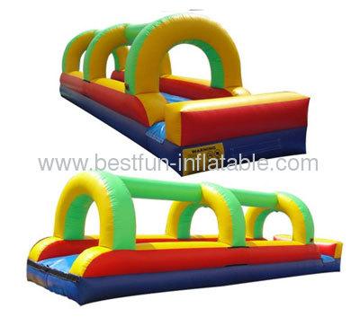Single Lane Bumper Inflatable Slip And Slide