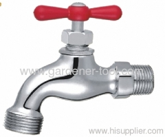 Outdoor metal water tap faucet