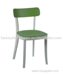 classic genre of simple plastic wood flexible Basel Chairs