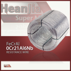 FeCrAl (0Cr21Al6Nb) Soft Annealed Resistance Wire