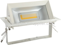 30W turnable LED downlights