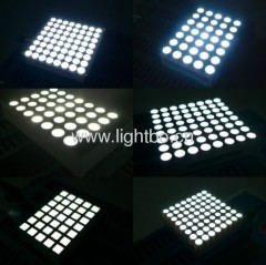 5 x 7,6 x 7, 5 x 8, 8 x 8,16 x 16 white Dot-Matrix-LED-Display