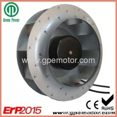 EC Centrifugal Fan impeller by speed control and energy-save