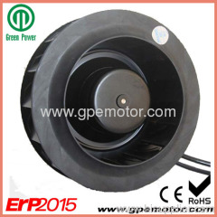 R1G220 DC Centrifugal Fan with backward curved impeller