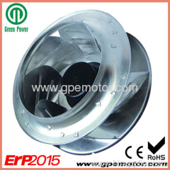 133-400mm DC Centrifugal Fan with 48V BLDC motor R1G400