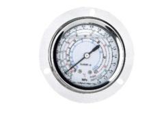 Refrigerant pressure gauge steel