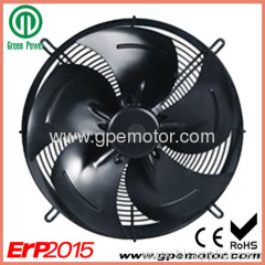 DC Motorized Axial Fans with speed control from 180-300
