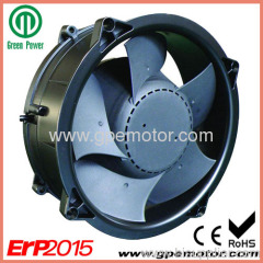 24V 48V DC Axial Fan Motors from 180 to 300mm