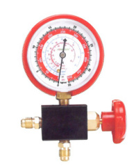 1-way manifold gauge refrigeration