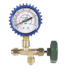 One way manifold gauge