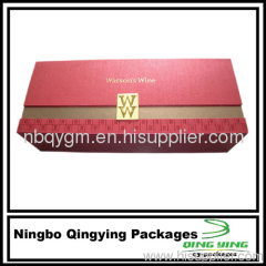 Rectangle Rigid Gift Wine Boxes