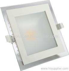 COB led downlight glass square