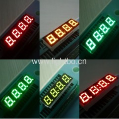 Display, vários clours avilable led de 4 dígitos 0,28