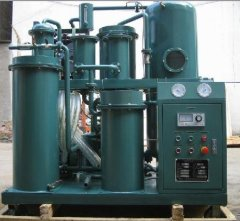 Contaminated Hydraulic Oil Purification Oil Dehydration Oil Purifying Plant