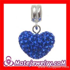european Crystal Dangle Charm Bead
