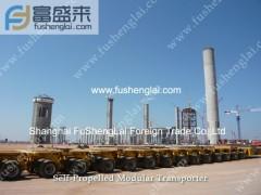 Chinese Self propelled modular trailer(