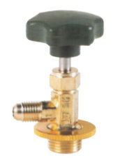Valve opener for refrigeration