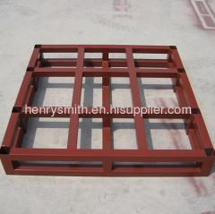 heavy-duty steel pallet