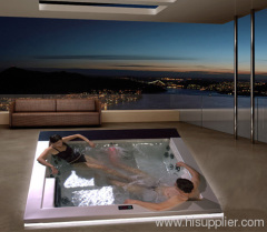 Massage hot tub outdoor jacuzzi