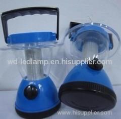 Solar power camping lantern light